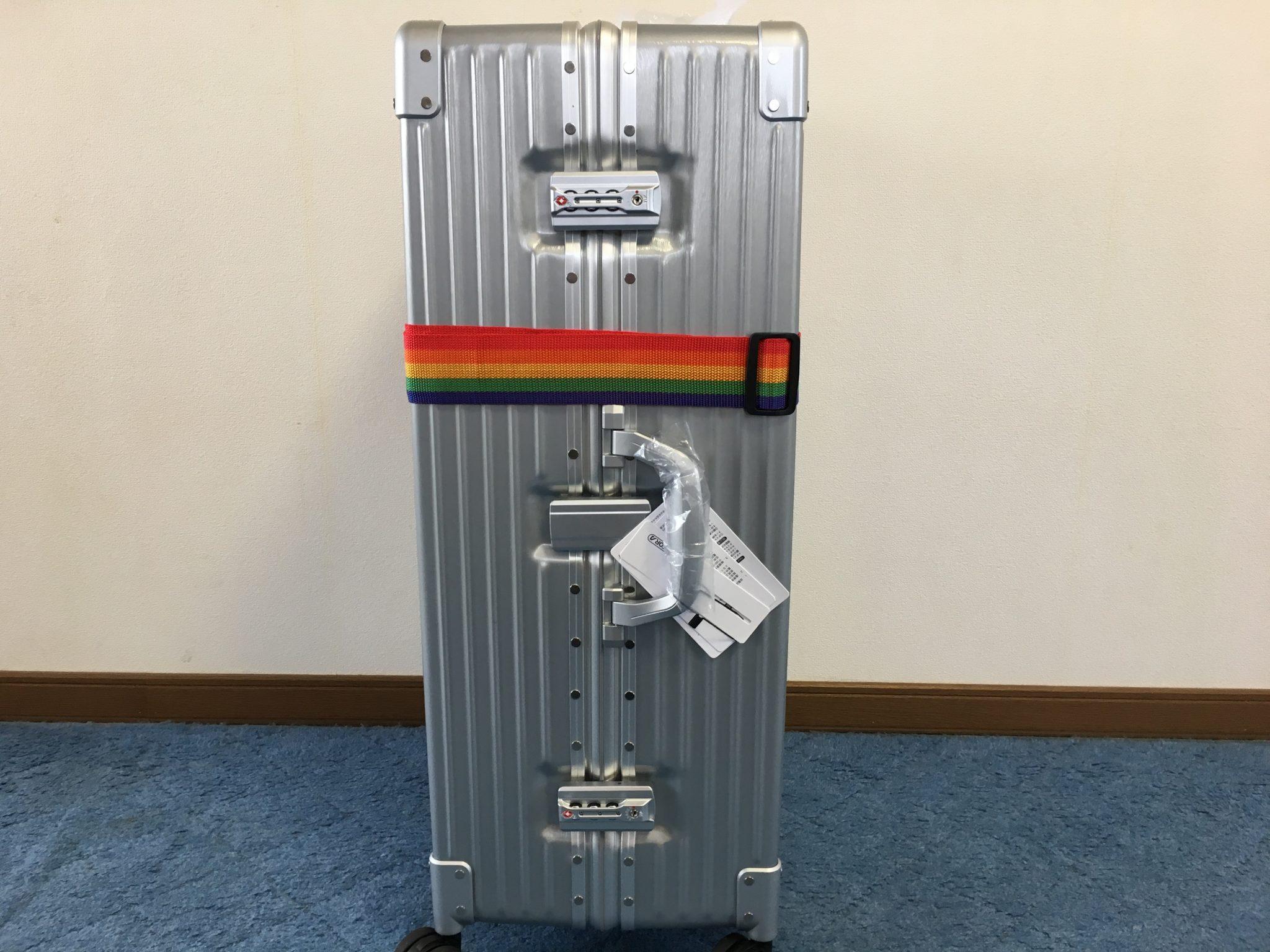 リモワ風スーツケースを購入したからレビューするよ!タビトラの評判は噂通り?